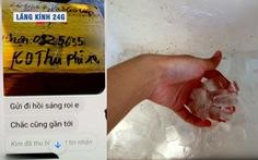 Lăng kính 24g: Cảnh giác chiêu trò đặt hải sản qua mạng, giao nước đá cho khách