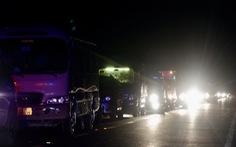 Tai nạn 1 người chết, xe đi Quốc lộ 91  'đứng bánh' 2 tiếng trong đêm