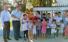 Đại sứ quán Canada khánh thành con đường làm cho 60 trẻ mồ côi