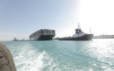 Siêu tàu Ever Given được giải cứu, hơn 100 tàu đầu tiên đã qua kênh đào Suez