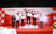 Vòng chung kết 'Hội thi Nhân viên xuất sắc - Nhà Phân phối Ôtô Honda' năm 2021