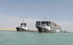 Giao thông kênh đào Suez được khôi phục hoàn toàn sau vụ tàu mắc cạn