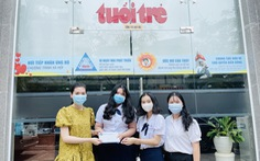 Học sinh, sinh viên ĐH Sài Gòn hưởng ứng 'Cùng Tuổi Trẻ góp vắc xin COVID-19'