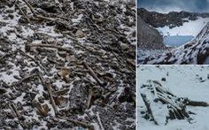 Bí ẩn hồ trên núi chứa 800 bộ xương người có niên đại cách nhau cả ngàn năm