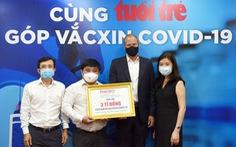Doanh nghiệp nước ngoài đầu tiên ủng hộ 3 tỉ đồng 'Cùng Tuổi Trẻ góp vắc xin COVID-19'