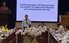 Y tế TP.HCM kiến nghị tăng đầu tư, lãnh đạo yêu cầu ứng dụng công nghệ