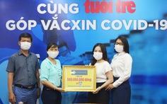 Thêm 500 triệu đồng góp mua vắc xin COVID-19 do Charm Group ủng hộ