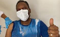 80 tuổi, Pele tiêm vắc xin COVID-19, truyền cảm hứng chống dịch