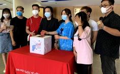 Hàng chục ngàn sinh viên, giảng viên hưởng ứng 'Cùng Tuổi Trẻ góp vắc xin COVID-19'