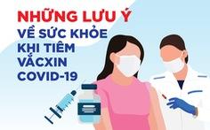 Người có sức khỏe thế nào sẽ được tiêm vắc xin COVID-19?