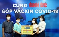 Hơn 6 tỉ đồng cho 'Cùng Tuổi Trẻ góp vắc xin COVID-19'