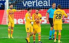 Messi với 2 pha kiến tạo giúp Barca áp sát ngôi đầu