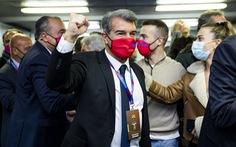 Joan Laporta trở lại làm chủ tịch Barcelona