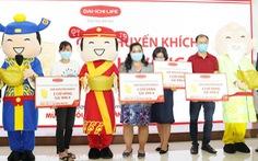 'Lộc vàng' trị giá hơn 9 tỉ đồng chính thức trao tay hàng trăm khách hàng Dai-ichi Life Việt Nam