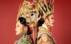 Bạch Tuyết, Khánh Vân đồng hành với Lê Long Dũng làm Việt phục