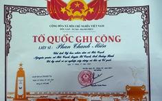 Công nhận liệt sĩ cho chủ tịch xã hi sinh vì dân trong lũ