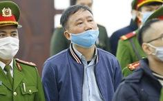 Ông Trịnh Xuân Thanh: 'Tôi đã lãnh án chung thân, nhận thêm chục năm nữa không là gì'