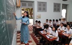 'Chúng tôi cần không chỉ lương mà cả vị thế của người thầy'