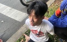 Gí dao kêu tài xế xe buýt 'chở đi miền Tây trốn gia đình', CSGT 2 đội Hàng Xanh, Bến Thành bắt gọn