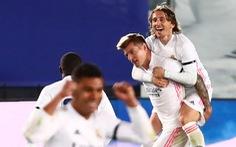 Barca lại bại trận trước Real Madrid