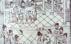Hội chân biên ghi việc thần tiên hóa vua Lê Thánh Tông