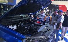 Khách mua xe hơi trong tháng 3 tăng 127% so với tháng trước