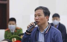 Ông Trịnh Xuân Thanh kháng cáo toàn bộ án sơ thẩm