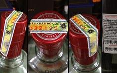 Từ 1-7-2022, thuốc lá, rượu ngoại phải được dán tem điện tử trước khi nhập về Việt Nam