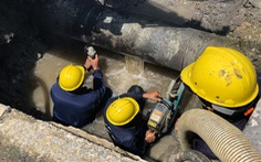TP.HCM: Thay đường ống nước suốt 24 giờ, khu vực nào bị ảnh hưởng?