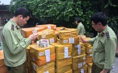 Thu giữ gần 14.000 lọ tinh dầu thuốc lá điện tử ở Hà Nội
