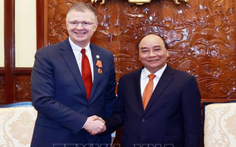 Chủ tịch nước Nguyễn Xuân Phúc nhận thư chúc mừng của Tổng thống Joe Biden