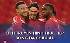 Lịch trực tiếp bóng đá châu Âu 18-4: Man United, Arsenal, Real và Juve thi đấu
