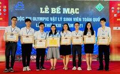 ĐH Sư phạm TP.HCM nhất toàn đoàn Olympic vật lý sinh viên