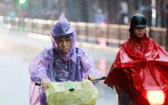 Mưa lớn ở Bắc và Bắc Trung Bộ, người dân ở miền núi đề phòng lũ quét