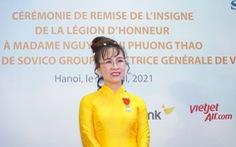 Bà Nguyễn Thị Phương Thảo nỗ lực không mệt mỏi để mang lại những giá trị mới