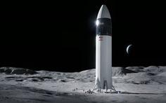NASA hợp đồng với Space X phát triển tàu vũ trụ đưa người lên Mặt trăng