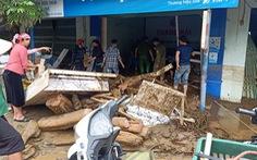 Lũ ống ở Lào Cai: '5 người ngủ trong lán, chỉ có 2 người chạy thoát'