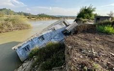 'Cát tặc' vẫn lộng hành trên dòng Krông Nô, dân sập nhà mất đất đến bao giờ?