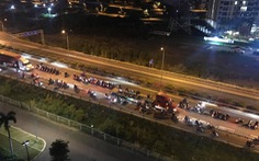 Khởi tố vụ án hàng trăm 'quái xế' chặn cao tốc làm đường đua bạt mạng