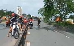 Clip dân quay cảnh 'quái xế' chặn đường Nguyễn Văn Linh quậy giữa ban ngày