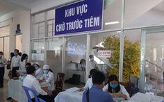 Cần Thơ tiêm vắc xin ngừa COVID-19 cho lực lượng phòng chống dịch