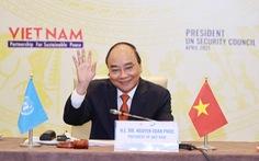 Họp Hội đồng Bảo an, Chủ tịch nước Nguyễn Xuân Phúc kêu gọi xây dựng lòng tin và đối thoại