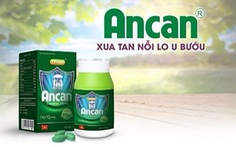 Ưu điểm vượt trội của sản phẩm Ancan với bệnh lý u bướu