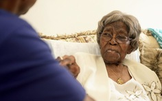 Cụ bà già nhất nước Mỹ có hơn 300 cháu vừa qua đời