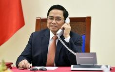 Thủ tướng Phạm Minh Chính mời Thủ tướng Singapore Lý Hiển Long thăm Việt Nam
