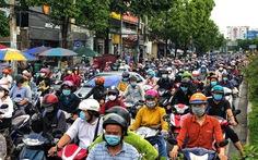 TP.HCM: ùn tắc giao thông tăng trở lại
