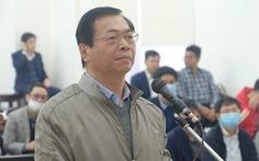 Sáng nay, cựu bộ trưởng Vũ Huy Hoàng hầu tòa