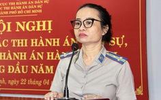Bà Nguyễn Thị Thu làm chi cục trưởng Chi cục Thi hành án dân sự TP Thủ Đức