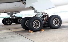 Máy bay Airbus A321 bị vỡ ống dầu phanh vì va phải chim