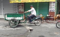 Từ 24-4, cấm ôtô trên đường Phạm Thế Hiển để thi công công trình